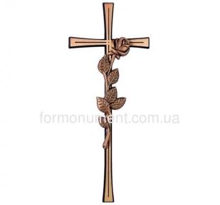 Крест с розой 2667 Jorda 40x16 см