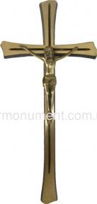 Крест из латуни 12х24 см арт.015_1