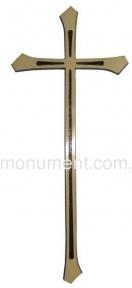 Крест католический  латунь 18х44 см арт.110