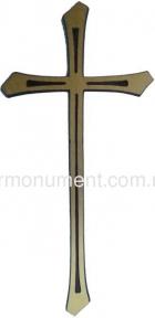 Крест католический латунь 14х34 см арт.115