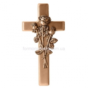 Крест с розами 2163 Lorenzi (Лорензи) 14,5х28 см