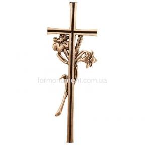 Крест с нарцисами 2166 Lorenzi (Лорензи) 13,5х38,5