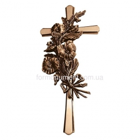 Крест с букетом 2177 Lorenzi (Лорензи) 18х40 см