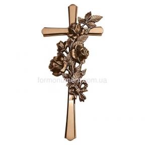 Крест с букетом 2183 Lorenzi (Лорензи) 18х40 см