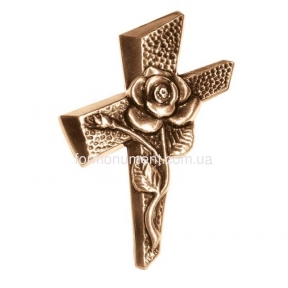 Крест с розой 3139 Lorenzi (Лорензи) 10х13 см