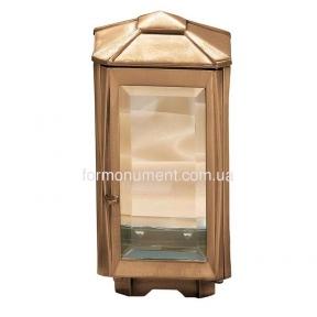 Лампада из бронзы 1001 Lorenzi (Лоренци) 13х13х26 см