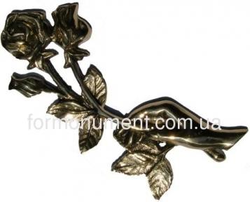 Ладонь с двумя розами H20 см арт.304